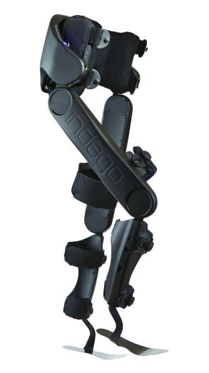 The Indego exoskeleton, which was approved by the FDA today