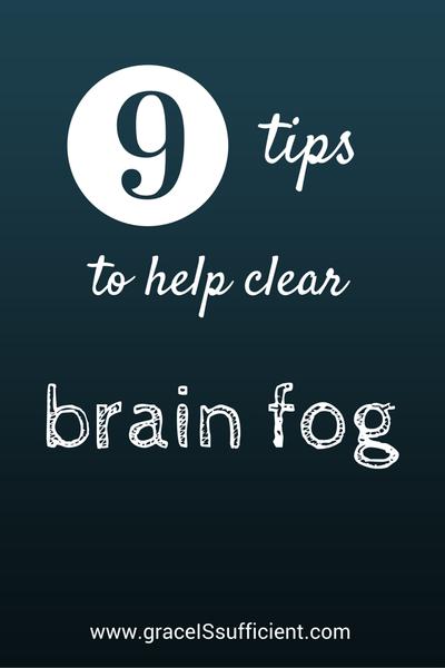 clear brain fog