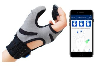 The features of the Carbonhand are easily adjusted via an App